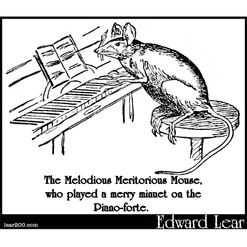 The Melodious Meritorious Mouse