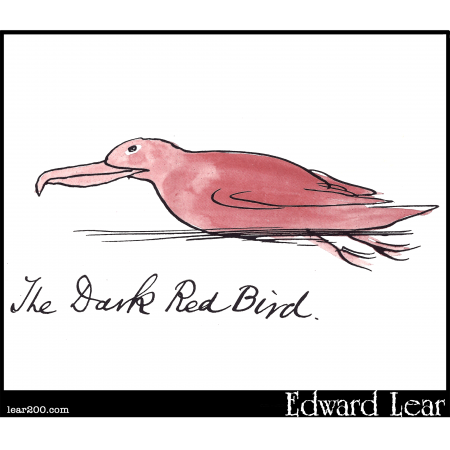 The Dark Red Bird