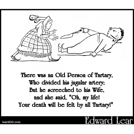 There was an Old Person of Tartary