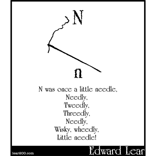 N was once a little needle