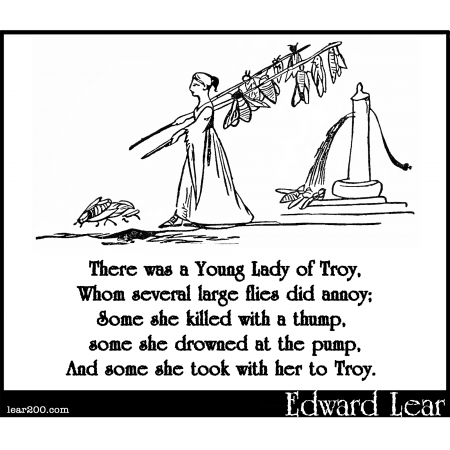There was a Young Lady of Troy
