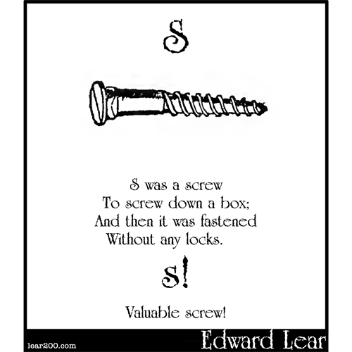 S was a screw