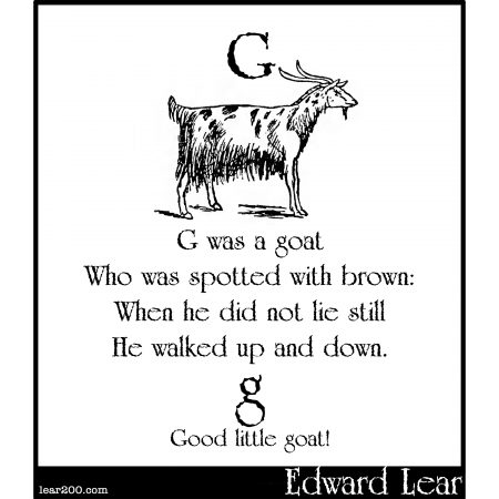 G was a goat